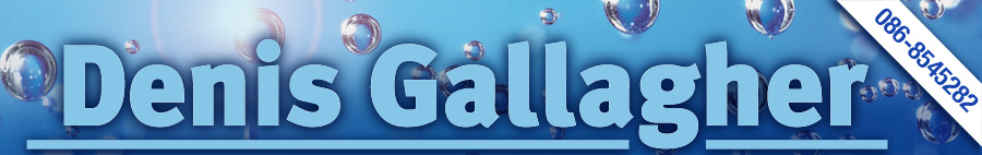 Denis Gallagher Water Solutions Header