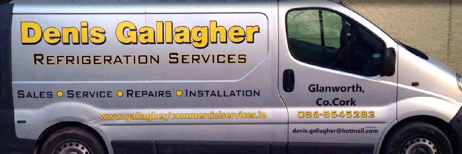 Denis Gallagher Commercial Services Van